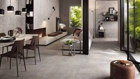 Lo stile industriale riproposto con i rivestimenti effetto cemento