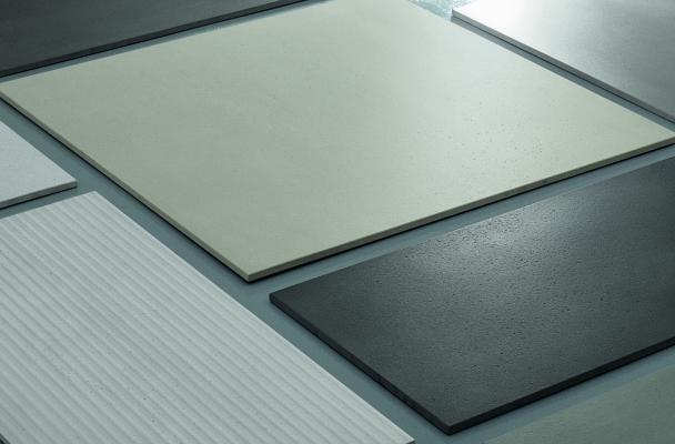 Rivestimenti e pavimenti effetto cemento linea Built di Cesar