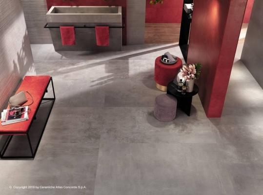 Pavimento effetto cemento formato 40x80 genere Urban by Atlas Concorde linea Boost