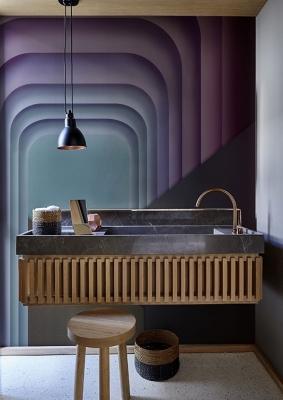 Pura eleganza con il rivestimento per bagno, da Wall&decò
