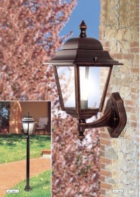 Applique e piantana Linea Tradizionale illuminazione esterna Moretti Luce