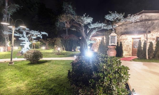 Lampioni da giardino in ottone, di Moretti Luce
