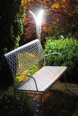 Angolo panchina con lampioncino Led Minimalism Novaprecisio