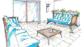 Il salotto all'aperto: idee semplici ed eleganti
