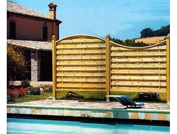 Separè legno frangivento di Cover Design
