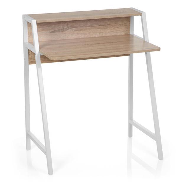 Scrivania compatta per ottimizzare lo spazio, da sediadaufficio.it
