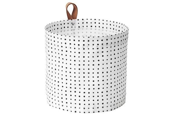 Cestello portabiancheria Plumsa di Ikea