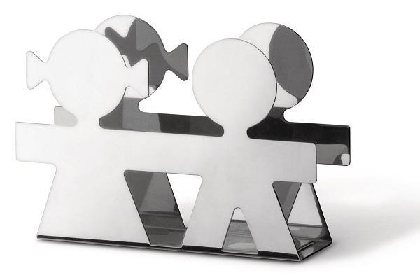 Portabuste per scrivania Girotondo di Alessi