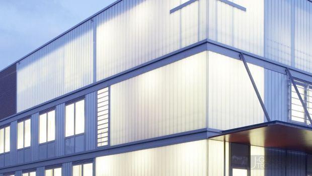 Gli U-Glass o profilati di vetro in architettura