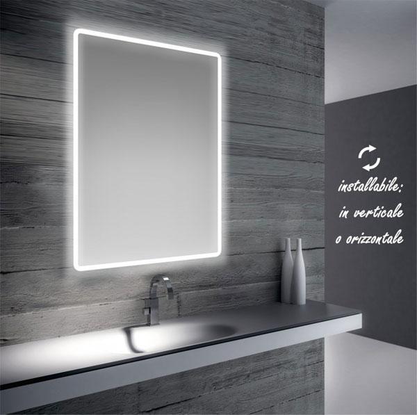 Specchi per bagno con led da Bathman