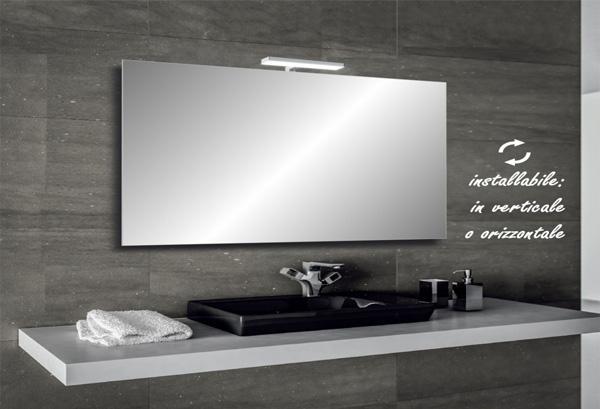 Specchio a led bagno di Bathman