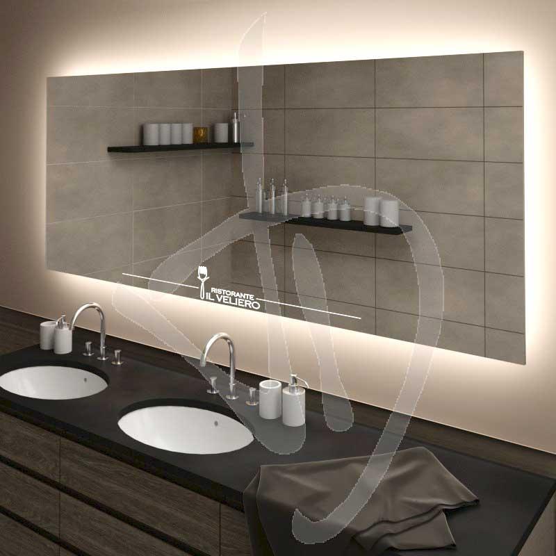 Specchio Bagno Con Led Prezzi.Foto Specchi Per Il Bagno