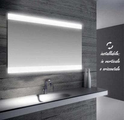 Specchio led bagno di Bathman