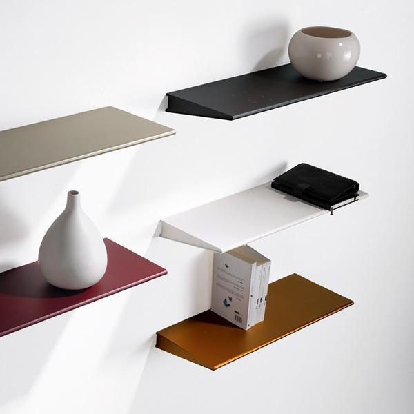 Mensole In Metallo Design.Mensole Di Metallo Colorate E Di Design
