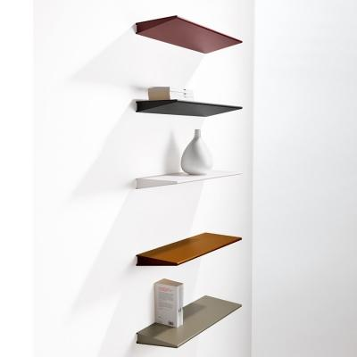 Mensole di metallo colorate e di design for Mensole d arredo design
