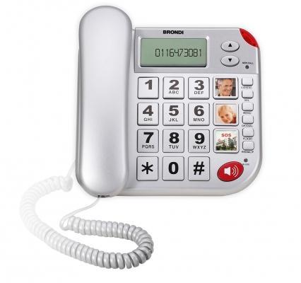 Telefono salvavita Super Bravo Plus di Brondi