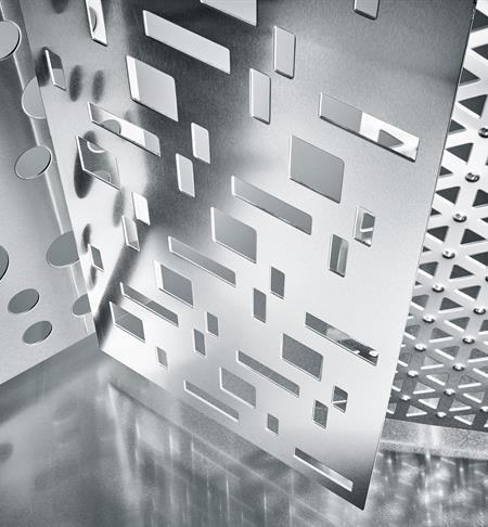 Lamiera forata decorativa Infinity di RMIG