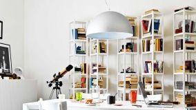 Librerie componibili a moduli, adattabili a ogni ambiente