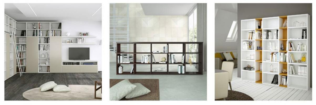 Librerie moderne design di HomePlaneur