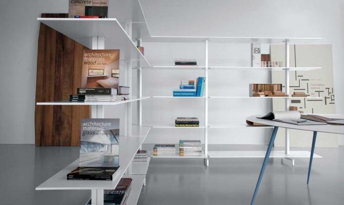 Librerie scaffali design, by Extendo