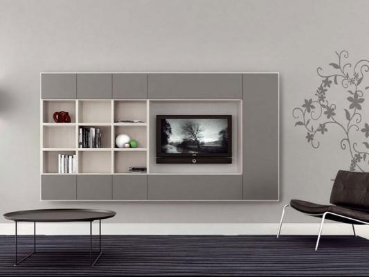 Librerie moderne per soggiorno di BERTOLI ARREDAMENTI