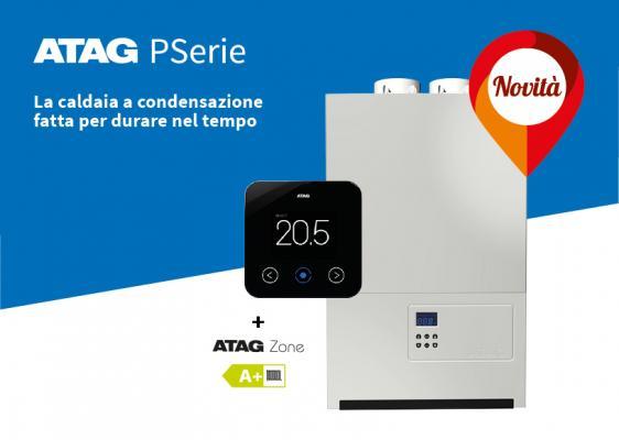 Caldaia a condensazione ATAG PSerie + cronotermostato One Zone
