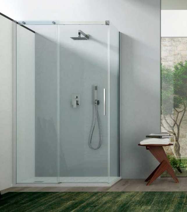 Montaggio doccia