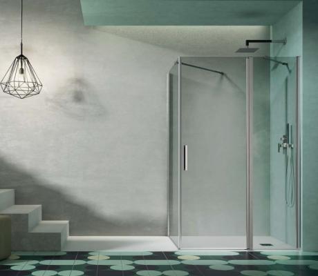 Regolare porta scorrevole doccia
