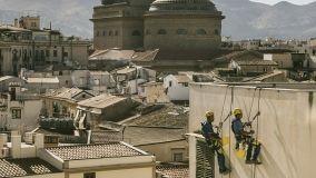 Lavori in quota: edilizia acrobatica