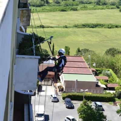 Ripristino balconi su fune di Edilizia Alternativa