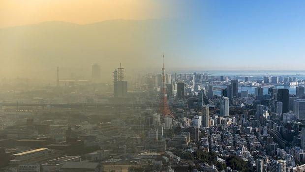 Soluzioni assorbi smog per ridurre l'inquinamento in città