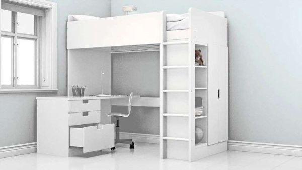 Struttura letto a soppalco STORA di IKEA