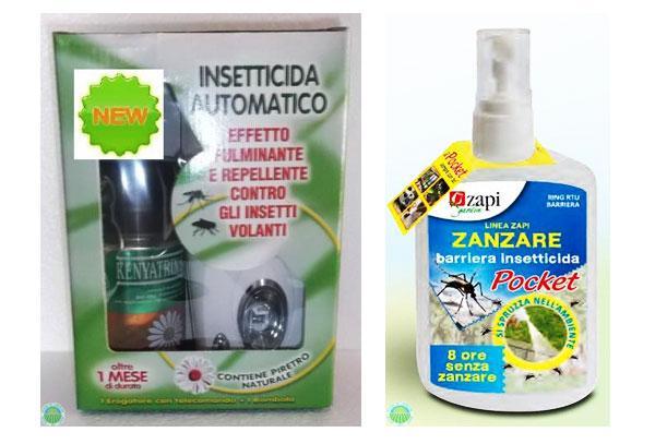 Insetticida zanzare giardino su AGRARIA COMAND
