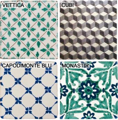 Piastrelle di ceramica Antico Vietri by Cottovietri