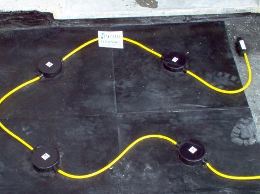 Antifurto sottopavimento Sisma CA