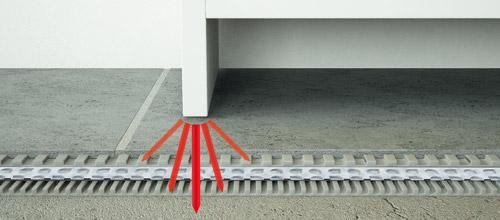 PRODESO® membrana antifrattura sottopavimento