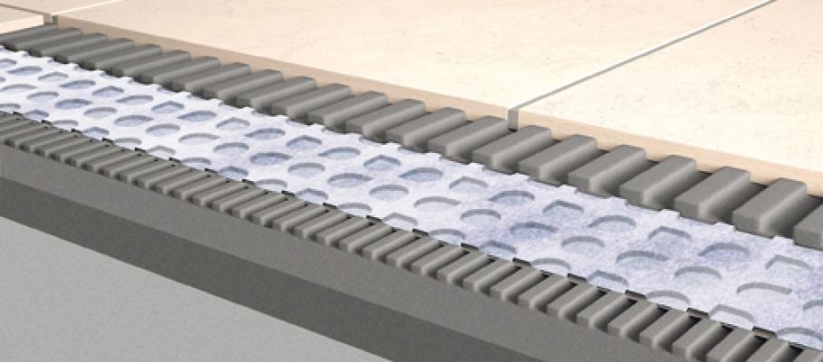 Sezione membrana desolidarizzante Prodeso