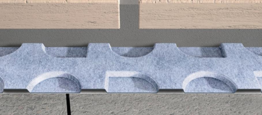 Dettaglio membrana desolidarizzante