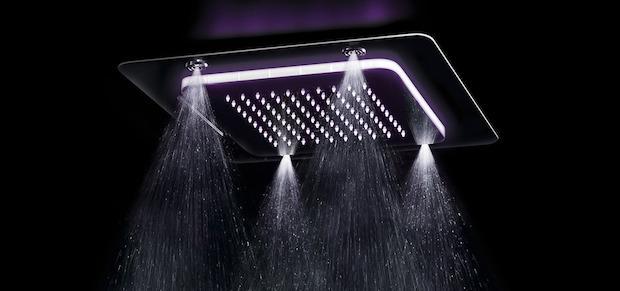 Soffione doccia nebulizzato, da Fir Italia