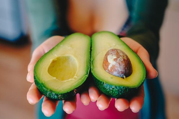 Frutto di avocado da gustare