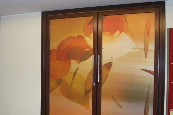 Vetro decorato con pellicola by Demart