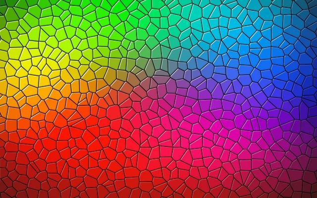 Decorazione vetro a mosaico
