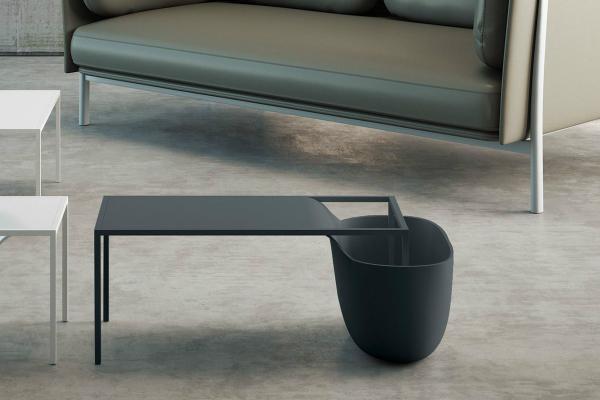Tavolino da soggiorno modello Flow Bowl