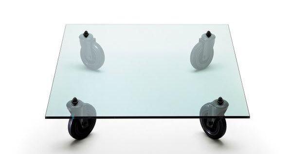 Tavolino da salotto in vetro by LoveThesign