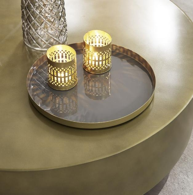 Foto - Tavolino da salotto: forme classiche, originali o fai ...