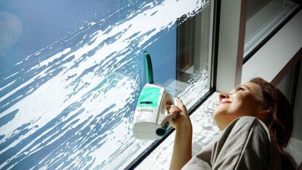 Una pulizia più veloce con i lavavetri per finestre