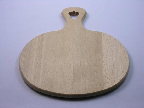 Tagliere legno tondo di Artigianato Borelli