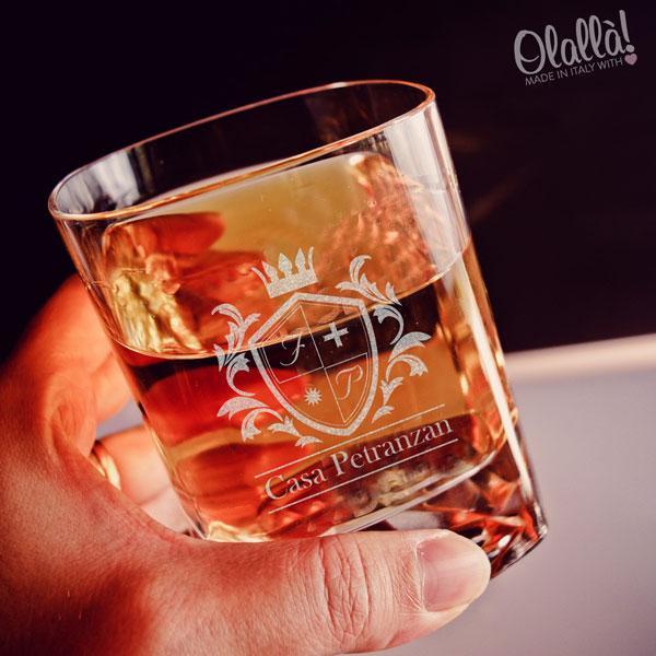 Bicchieri online personalizzati per liquori su Olallà