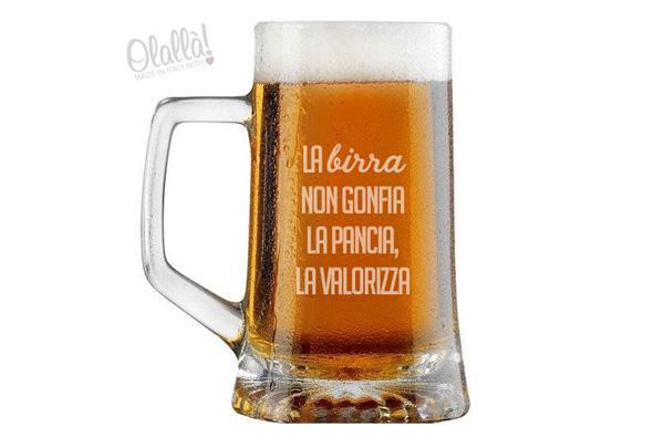 I bicchieri per la birra personalizzati, by Olallà