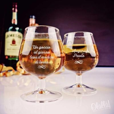 Bicchieri amaro personalizzati, by Olallà